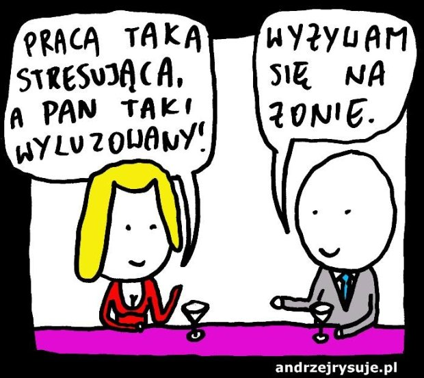 stresujaca praca