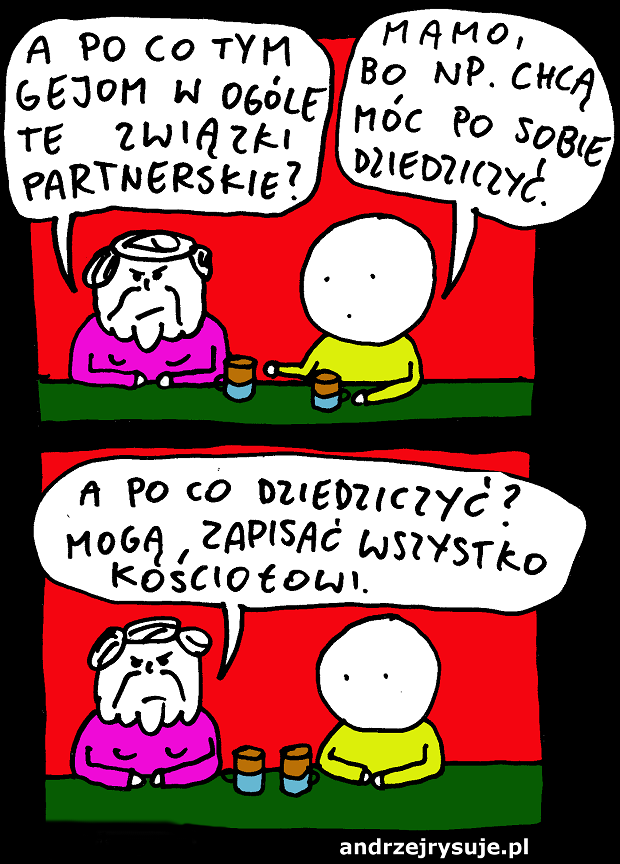 zwiazki partnerskie