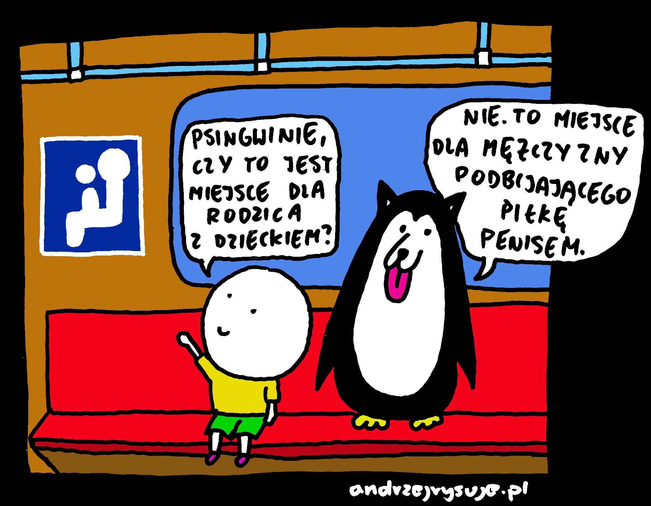 Psingwin w metrze